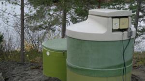 Referenssi: Lentiiran kirkon biologinen Vesimies-pienpuhdistamo